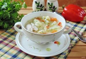 Суп из индейки с цветной капустой - фото шаг 9