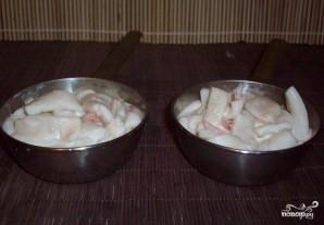 Жюльен из кальмаров с грибами - фото шаг 4