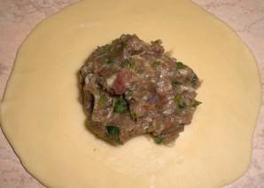 Хинкали с мясом - фото шаг 9
