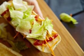 Вегетарианский гамбургер - фото шаг 3
