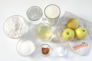 Диетический пирог с яблоками - фото шаг 1