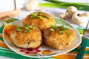 Рисовые зразы с грибами - фото шаг 7