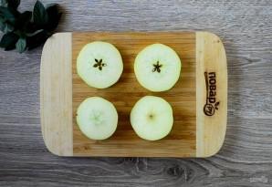 Яблочный крамбл с мороженым - фото шаг 2