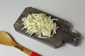 Борщ со стручковой фасолью - фото шаг 3