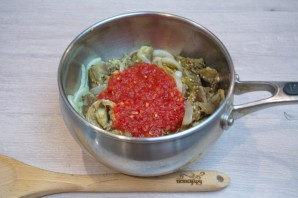 Суп с запеченными баклажанами - фото шаг 3