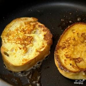 Французские тосты с сыром - фото шаг 8