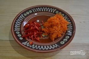 Салат из капусты с горячим маринадом - фото шаг 3
