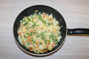 Рис с курицей и фасолью - фото шаг 10