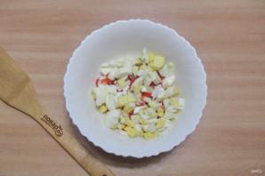 Салат из шампиньонов жареных - фото шаг 6