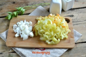 Кабачковая икра с болгарским перцем на зиму - фото шаг 2