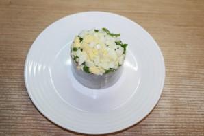 Новый салат с крабовыми палочками - фото шаг 11