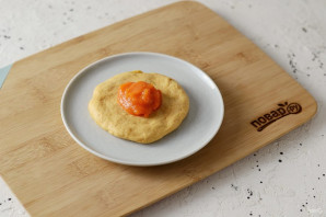 Тыквенные булочки с коричным маслом - фото шаг 8