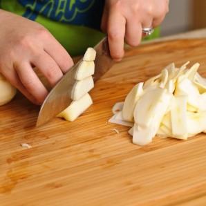 Яблочный пирог с фруктами - фото шаг 3