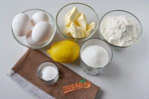 Лимонный пирог в духовке - фото шаг 1