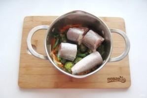 Диетическая рыба с овощами - фото шаг 6