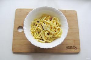 Итальянский салат с блинами - фото шаг 8