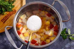 Фруктовый суп с рисом - фото шаг 5