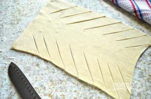 Кулебяка из слоеного теста - фото шаг 6