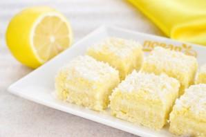 Лимонно-кокосовые квадратики - фото шаг 8