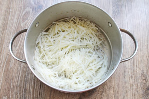 Китайский картофельный салат - фото шаг 5