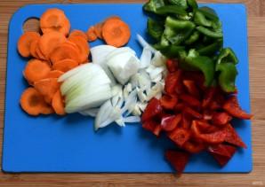 Маринованная свинина с овощами - фото шаг 2