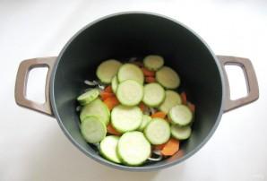 Тефтели с кабачками и баклажанами в соусе - фото шаг 5