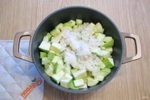 Салат из кабачков с рисом на зиму - фото шаг 8
