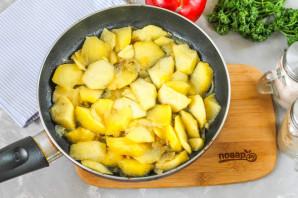 Паштет из куриной печени с яблоками - фото шаг 6