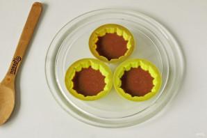 Кексы в микроволновке в силиконовых формочках - фото шаг 5