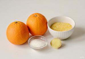Кукурузная каша с апельсином и имбирем - фото шаг 1