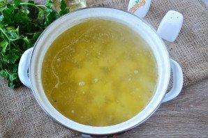 Овощной суп на мясном бульоне - фото шаг 7