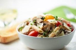 Паста с помидорами и грибами - фото шаг 5