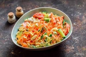 """Салат """"Муравейник"""" с корейской морковью - фото шаг 8"""