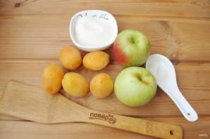 Компот из абрикосов и яблок на зиму - фото шаг 1