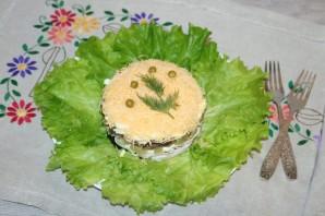 Салат с курицей, черносливом и ананасом - фото шаг 12