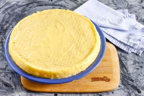 Вафельный торт с заварным кремом - фото шаг 5