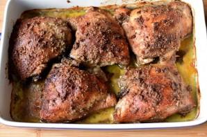 Куриные бедра в ореховом песто - фото шаг 7