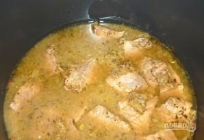 Мясо с киви - фото шаг 6
