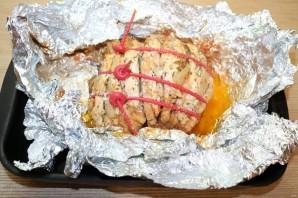 Мясо, запечённое гармошкой - фото шаг 12