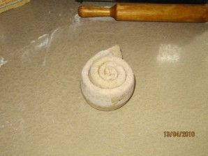 Луковая лепешка - фото шаг 8