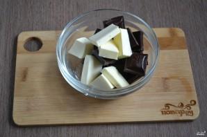 Шоколадный брауни с вишней - фото шаг 2