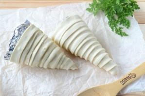 Макароны с сыром в рожке - фото шаг 3