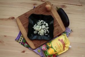 Лучший рецепт фаршированных баклажанов с грибами и майонезом - фото шаг 4