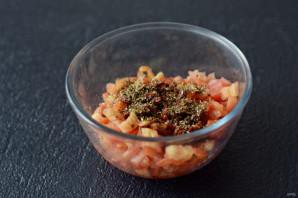 Тартар из помидоров - фото шаг 4