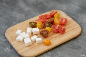 Салат с брюссельской капустой и стручковой фасолью - фото шаг 5