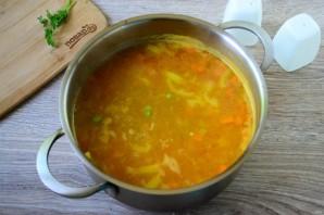 Рисовый суп с горошком - фото шаг 9
