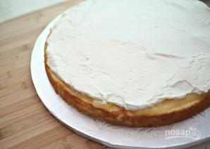 Торт из готовых коржей с фруктами - фото шаг 3