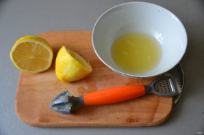 Лимонный соус - фото шаг 3