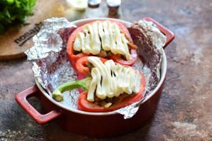 Болгарский перец фаршированный куриной печенью - фото шаг 7