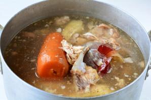 Холодец из говядины, свинины и курицы - фото шаг 3